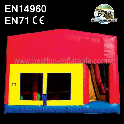 Residential Bounce House with slide
