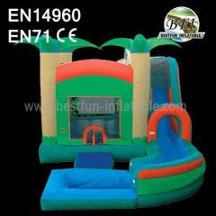 Popular Inflatable Castle with slide