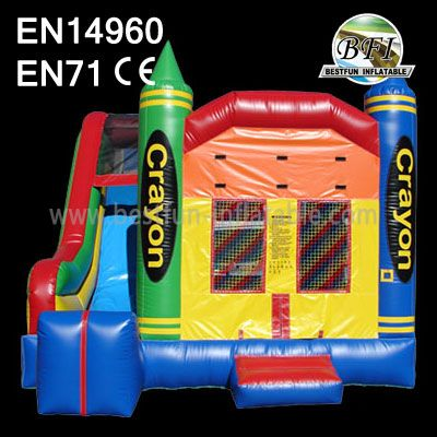 Inflatable Bounce Rocket Castle