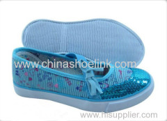 2013 Newest Hot Sale Fashion Children Canvas shoes with vulcanized sole (KY-CCA 1307)