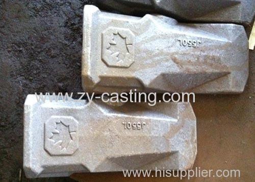 bucket teeth engineeer machinery carbon steel heavy casting