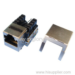 Cat.6 RJ45 Shielded Keystone Jack UTP toolless