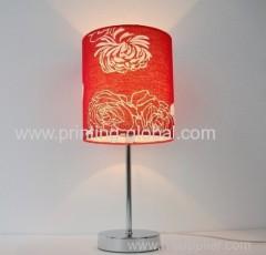 Heat transfer film for table lamp