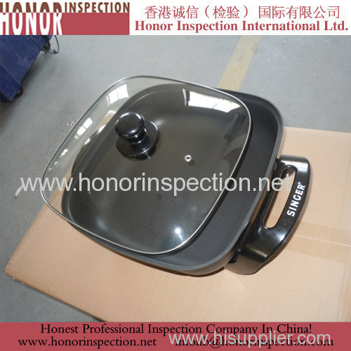 Professional Electric Frypan Quality Inspection