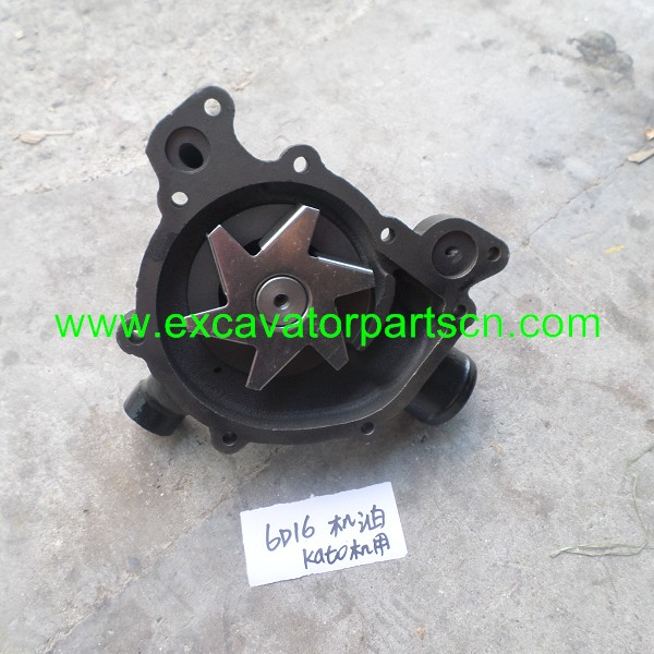 6D16T WATER PUMP FOR EXCAVATOR