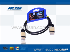 19PIN Male to Male GOLD PLATED HDMI CABLE