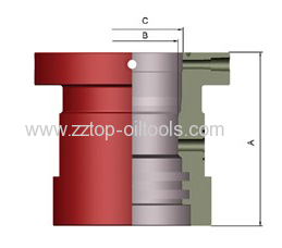 Casing head API 6A Well head
