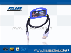 Nylon braid HDMI cable