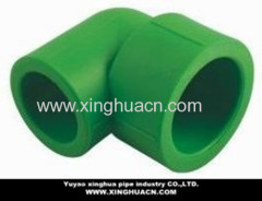 ppr pipe plastic reduced 90 degree elbow