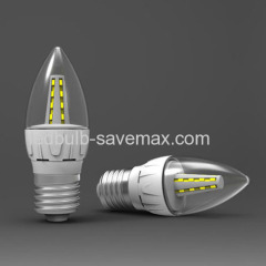 LED candle shape bulb