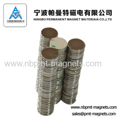 3M adhesive industrial permanent NdFeB Magnet