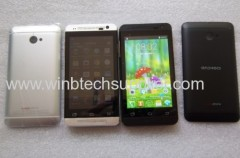 4inch dual sim dual core gsm and wcdma phone china mini one M4 M7