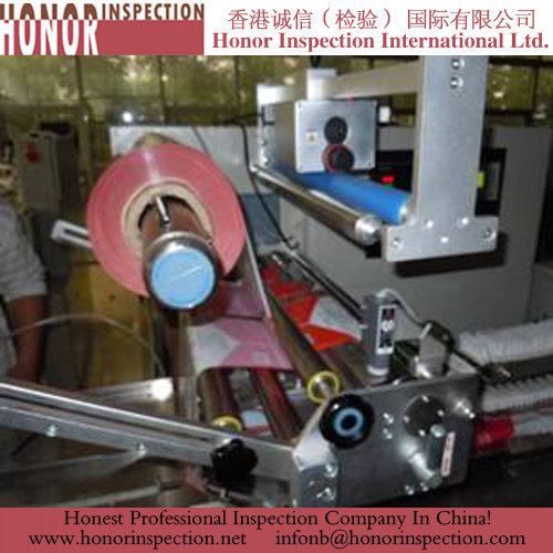 Packing machine quality control services in Asia