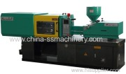 Where are the dangerous areas on injection molding machines