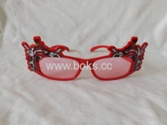 fashion newest plastic glasses