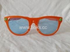 fashion new orange plastic glasses