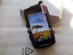 android 4.4 quad core rug-ged wateproof nfc oem order talkie walkie nfc emergency use army use