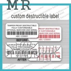 Biggest Manufacture of Ultra Destructible Vinyl