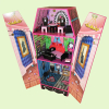 Wooden Coffin Dollhouse/Wooden children furniture/ Promotional toys/China Dolls Houses/Dolls House Accessories Suppliers
