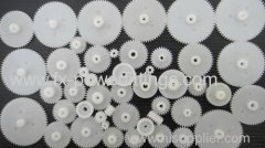 PP PE olesale - DIY 46 Styles Plastic Gears All The Module 0.5 Plastic Components Gears of Robot Toy Accessories