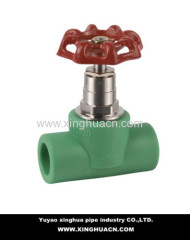 ppr pipe stop valve