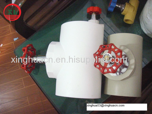 2014 PPRCT fittings and pipe stop Valve from Yuyao China