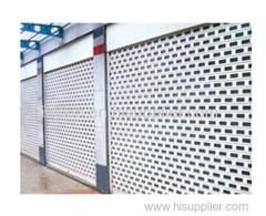 Commercial roller door, shop front roll up door