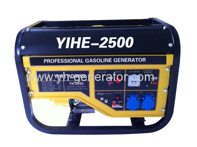 2KW Single-phase recoil start gasoline generator set