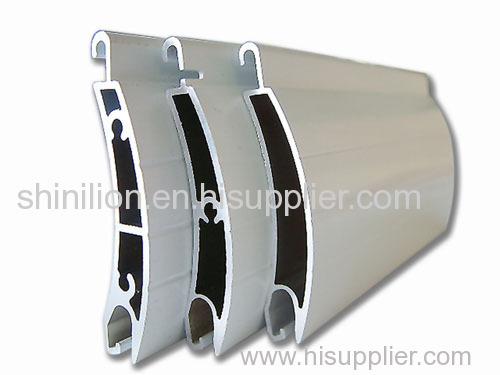 High strength hurricane roller shutter slat