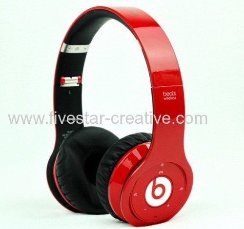 Factory Direct Sale 2013 New Beats by Dr.Dre Wireless Bluetooth Headphones Red