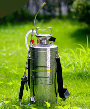 Hudson Stainless Steel Sprayer WHO Stainless Steel Sprayer 1 GALLON SPRAYER 2 GALLON STEEL SPRAYER 3 GALLON