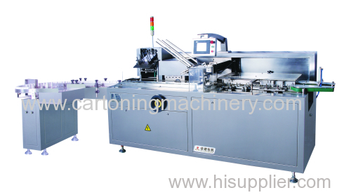 Cartoner machine for pharmacy