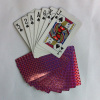 2014 Purple playing cards