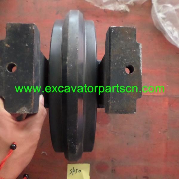 SK50 FRONT IDLER FOR EXCAVATOR