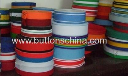 Braided cotton tape