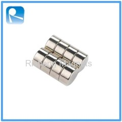 Disk Magnets High Temperature Resistance Neodymium Disc Magnets N35SH Grade