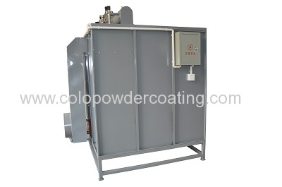 colo brand new plastic powder coating booth