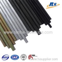 black phosphated steel pipes