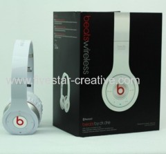 Beats by Dr.Dre Wireless Bluetooth On-Ear Headphones White