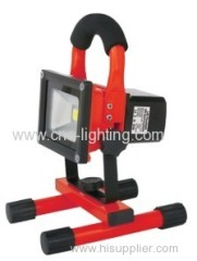 20W IP65 Rechargeable LED Flood Light with SOS Function(work time 3hours)