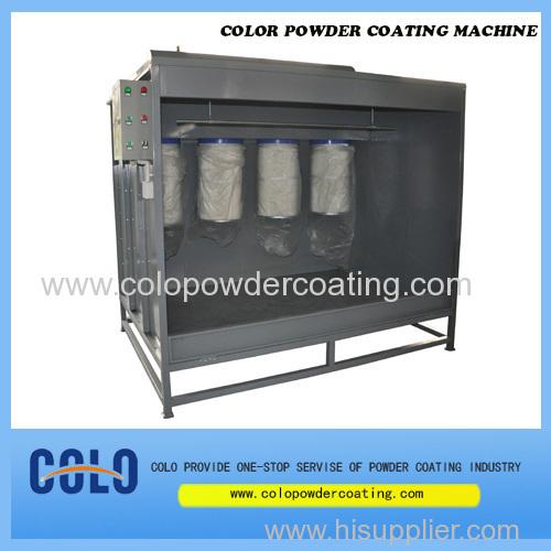 China powder coating chamber