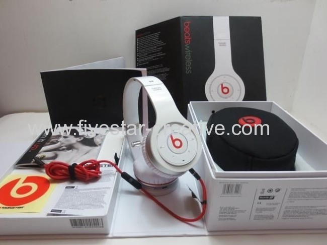 Beats Wireless Headphones by Dr.Dre White