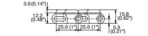 M2540 Radius Flush Grid With Hold-Down Edge