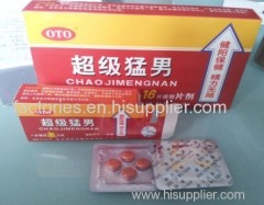 chinese version chaojimengnan erectile sex pills