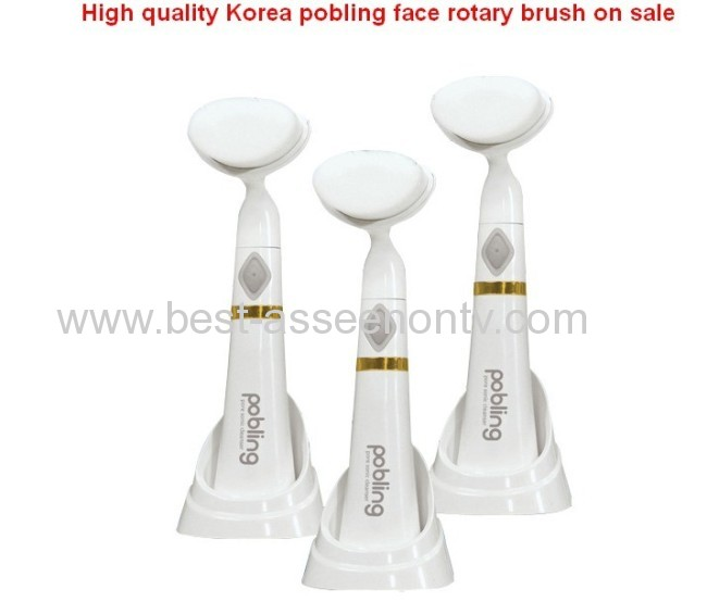 BEST High quality Korea pobling face rotary brushPobling Pobling facial massager brush