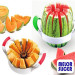 Living Solutions Melon Slicer Removes the Core and Cuts 12 Perfect Slices watermelon super slicer