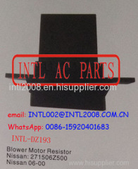 Air Heater Resistor Rheostat HEATER BLOWER RESISTOR Motor fan resistor NISSAN Sentra 271506Z500 27150-6Z500 27150-4Z000