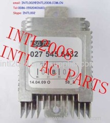 Heater blower Motor Resistor Rheostat AUX. Auxiliary fan control unit for Mercedes Benz MB 027-545-64-32 0275456432 W013