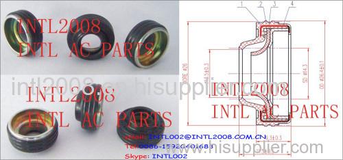 air conditioning/CONDITION compressor Lip Seal DENSO 10S15C 10S17C 10S20C AUTO AC CAR A/C COMPRESSOR SHAFT LIP SEAL