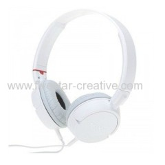 Sony MDR-ZX100 Stereo Noise Reducing Ear Cup Audio Studio Headphones White